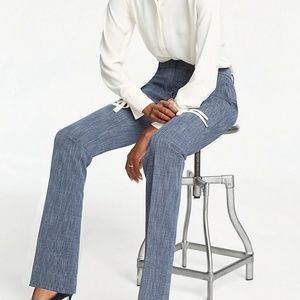 NWT Ann Taylor The Straight Pant in Crosshatch